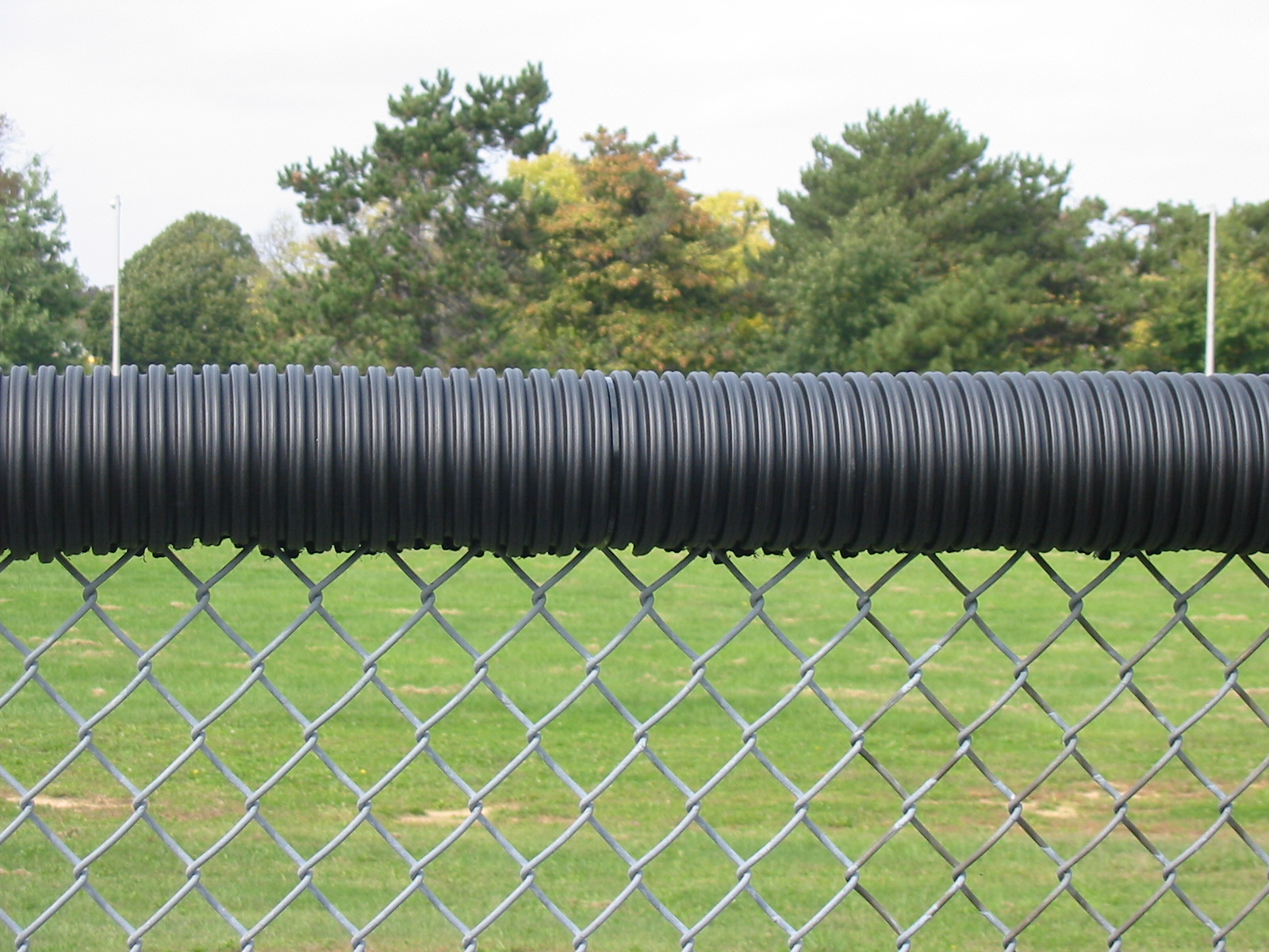 Safety Top Cap For Chain Link Fence Hoover Fence Co