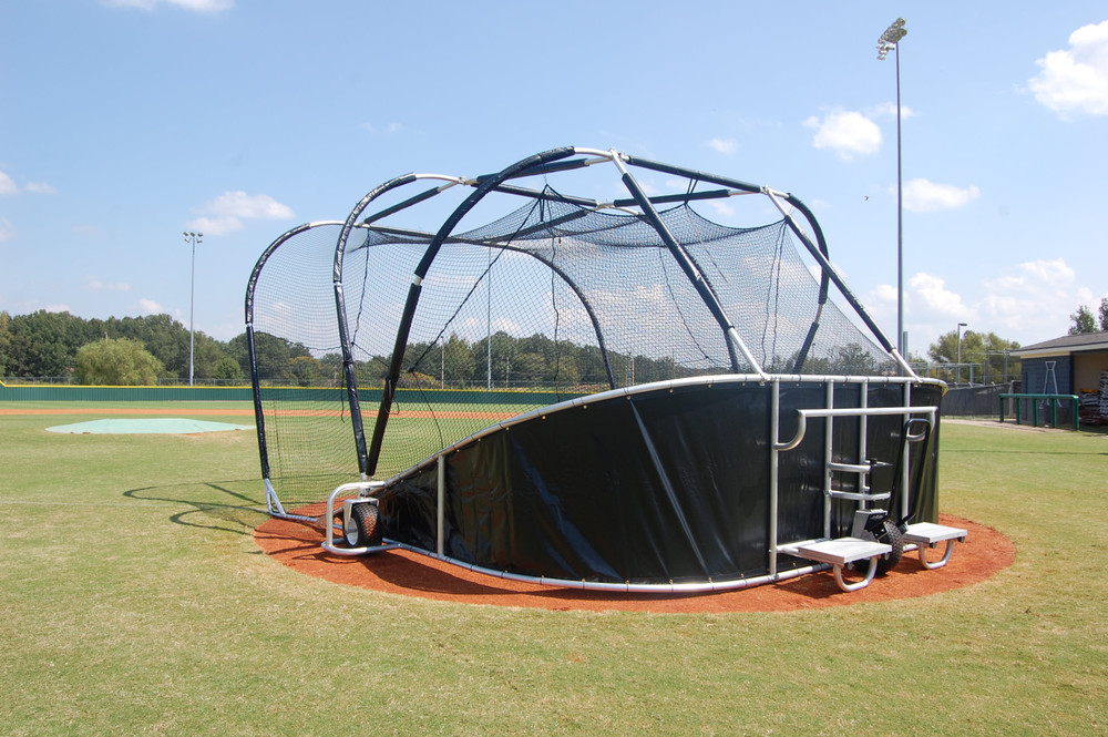 Batting Cage with Batting Net