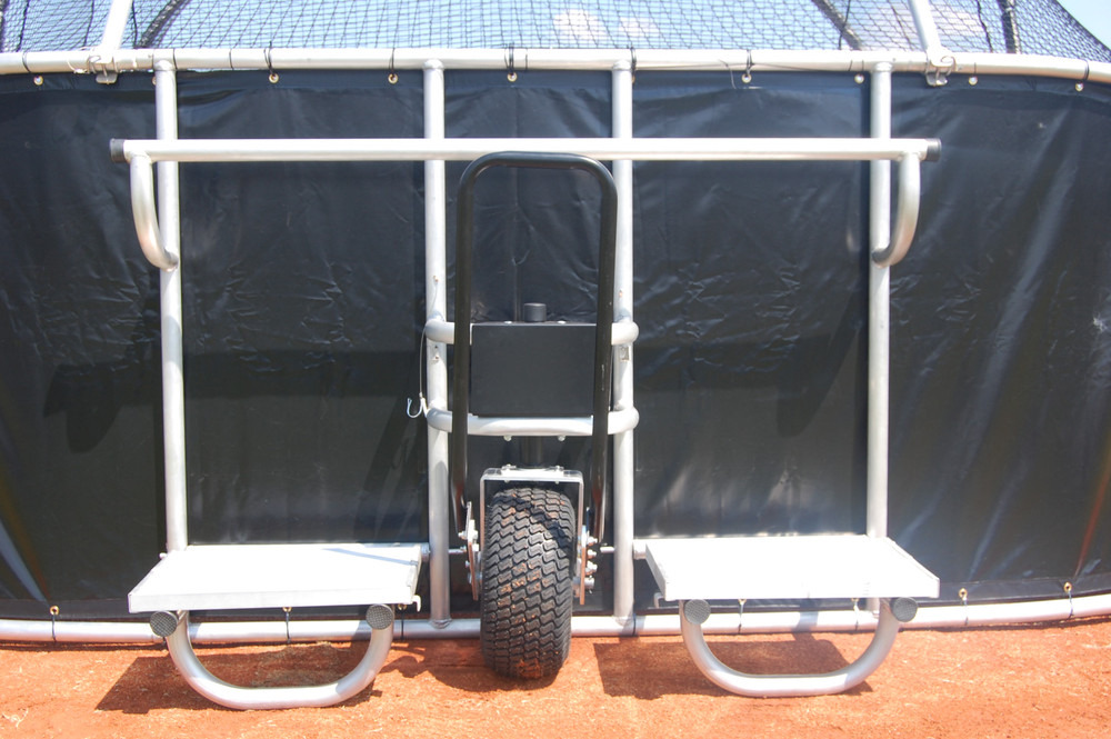 Portable Batting Cage with wheels