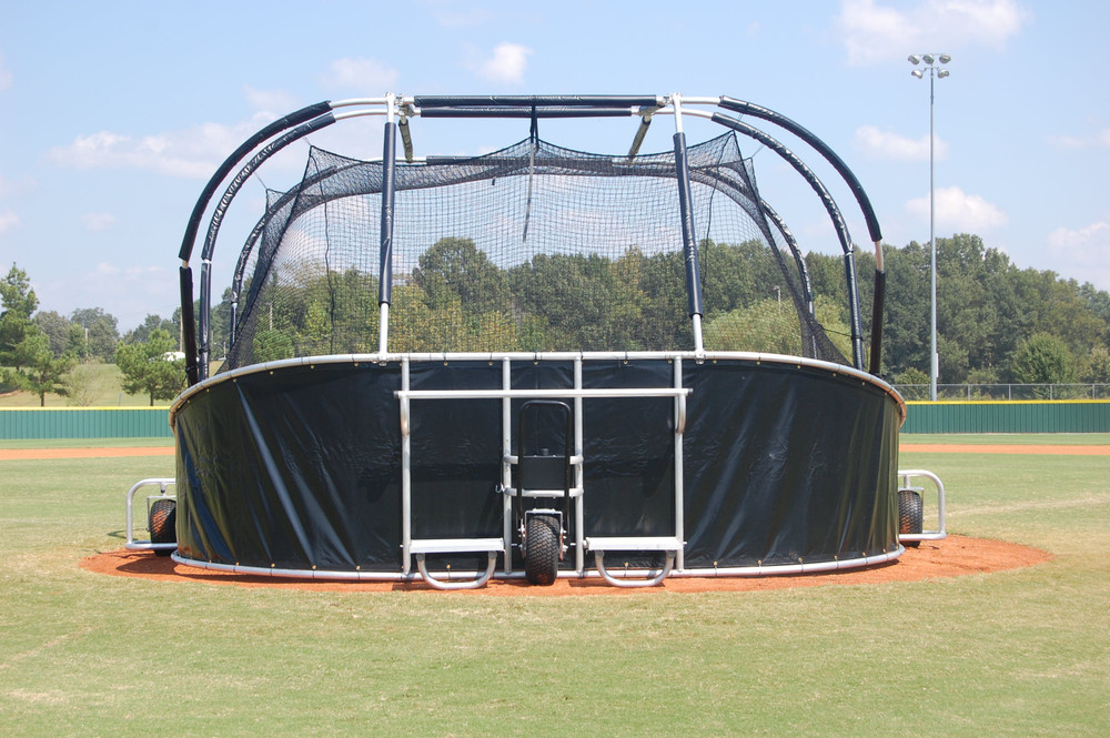 Batting Cage with wheels